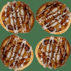 4-Pack Apple Cinnamon Rolls
