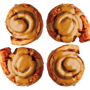 4-Pack of our Maple Cinnamon ROlls