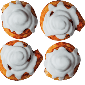 4-Pack Traditional Cinnamon Rolls